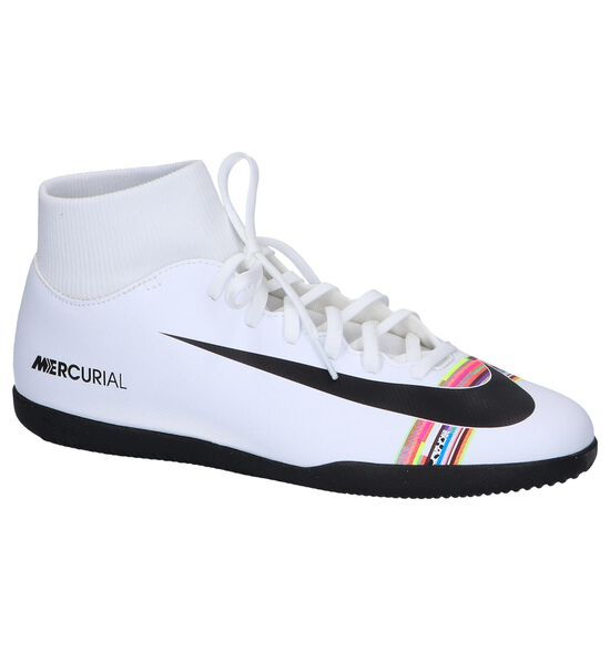 Witte Zaalvoetbalschoenen Nike CR7 Superfly