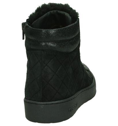 Zwart Cycleur de Luxe Stephanie Boots met Rits/Veter, Zwart, pdp
