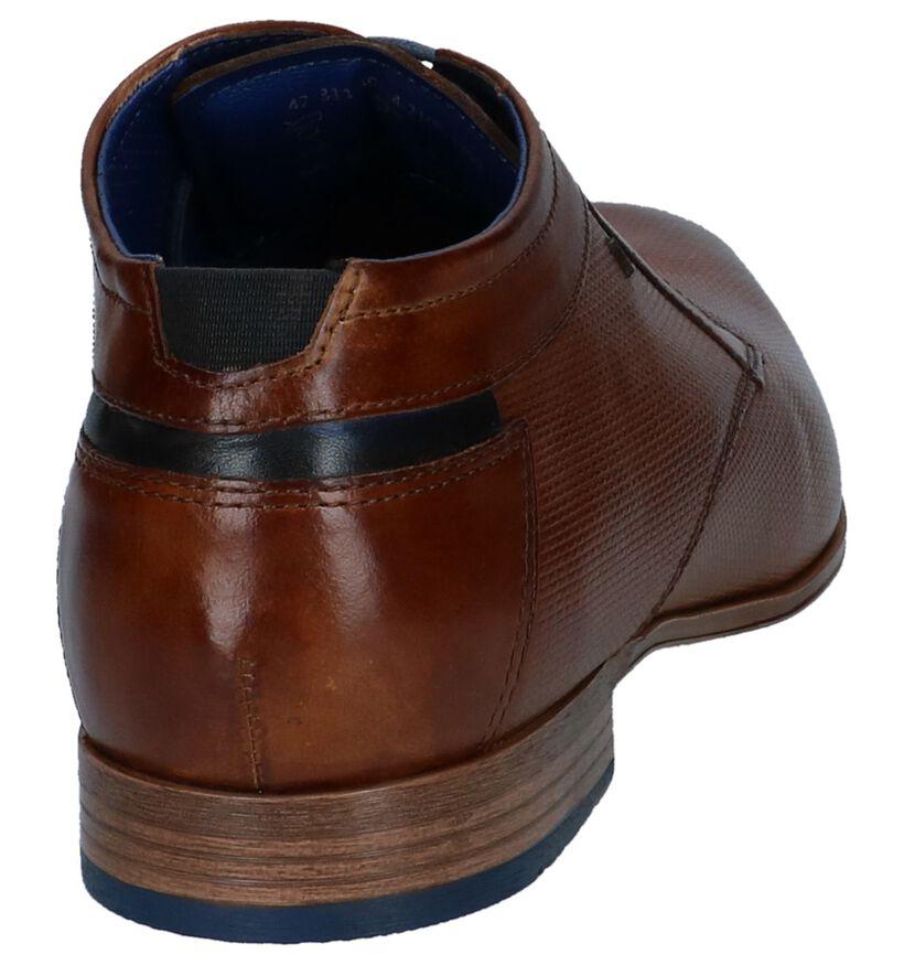 Hoge Schoenen Cognac Bugatti in leer (243623)