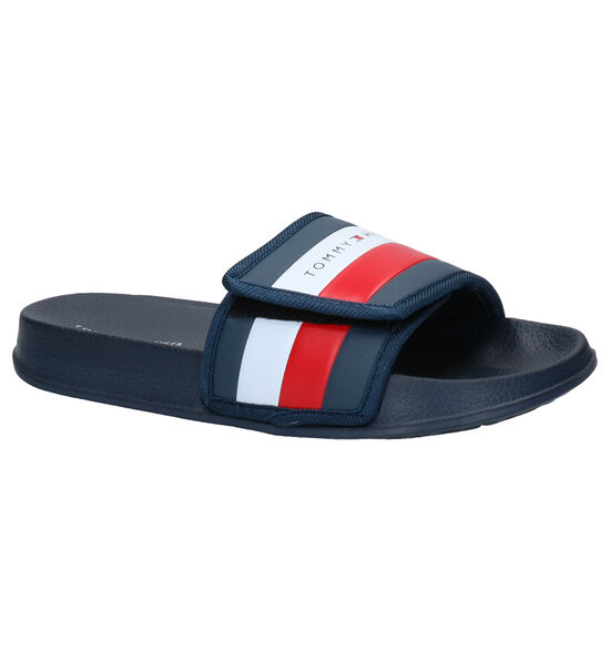 Tommy Hilfiger Blauwe Slippers