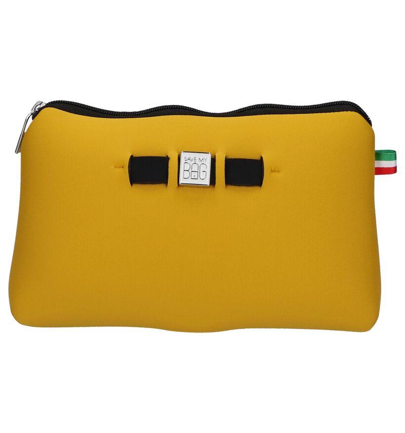 Save My Bag Travel Pouch Zwart Make-up Tasje in stof (245819)