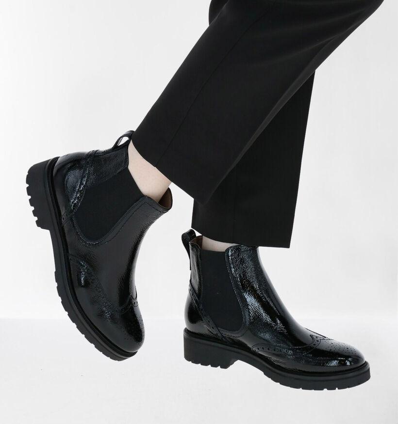 NeroGiardini Zwarte Chelsea Boots in leer (283211)