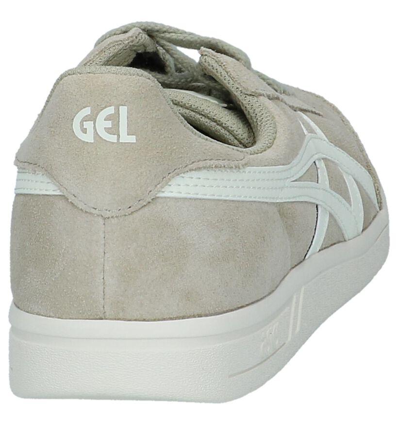Donkerbeige Sneaker Gel Vickka Asics in daim (238281)