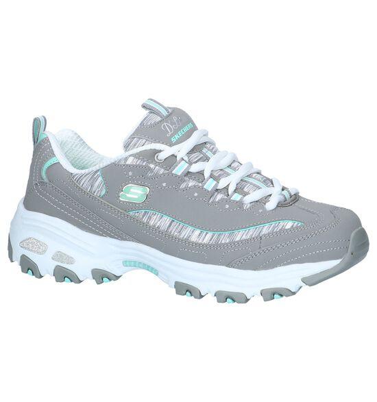 Grijze Sneakers Skechers D'Lites