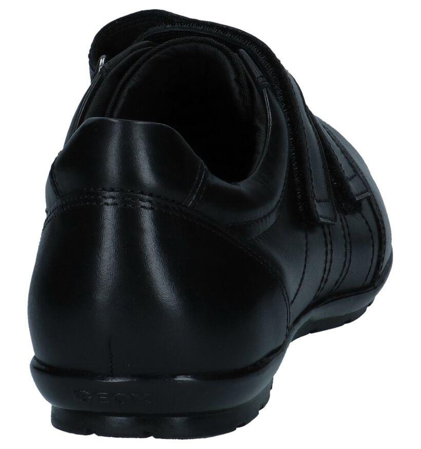 Geox Lage Schoenen met Klittenband in leer (266704)