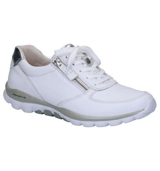 Gabor Rollingsoft Witte Lage Schoenen
