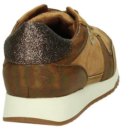 Tamaris Cognac Sneakers in kunstleer (184161)