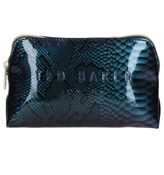 Ted Baker Jorjah Blauw Make-up Tas