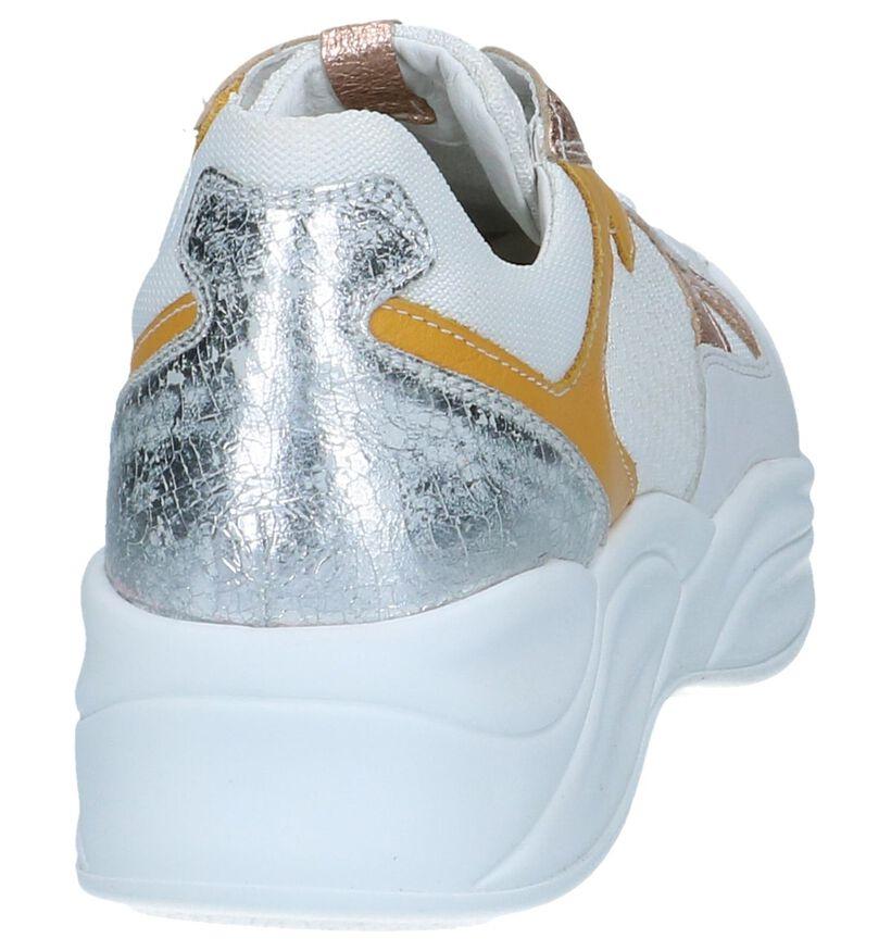 Witte Sneakers NeroGiardini in leer (251662)