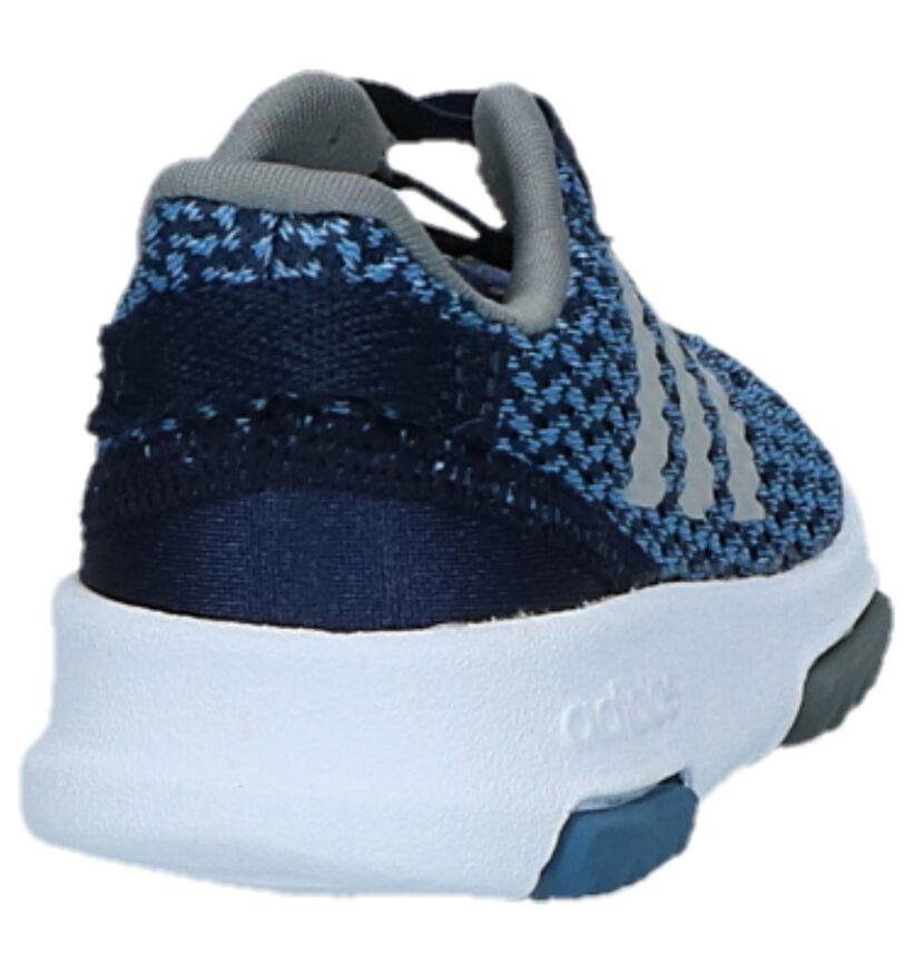 Blauwe Sneakers adidas Racer TR in stof (221818)