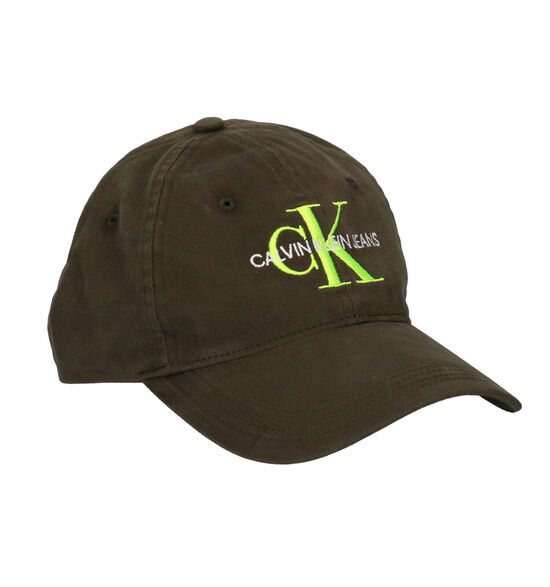 Calvin Klein Accessories Monogram Cap M kaki Pet