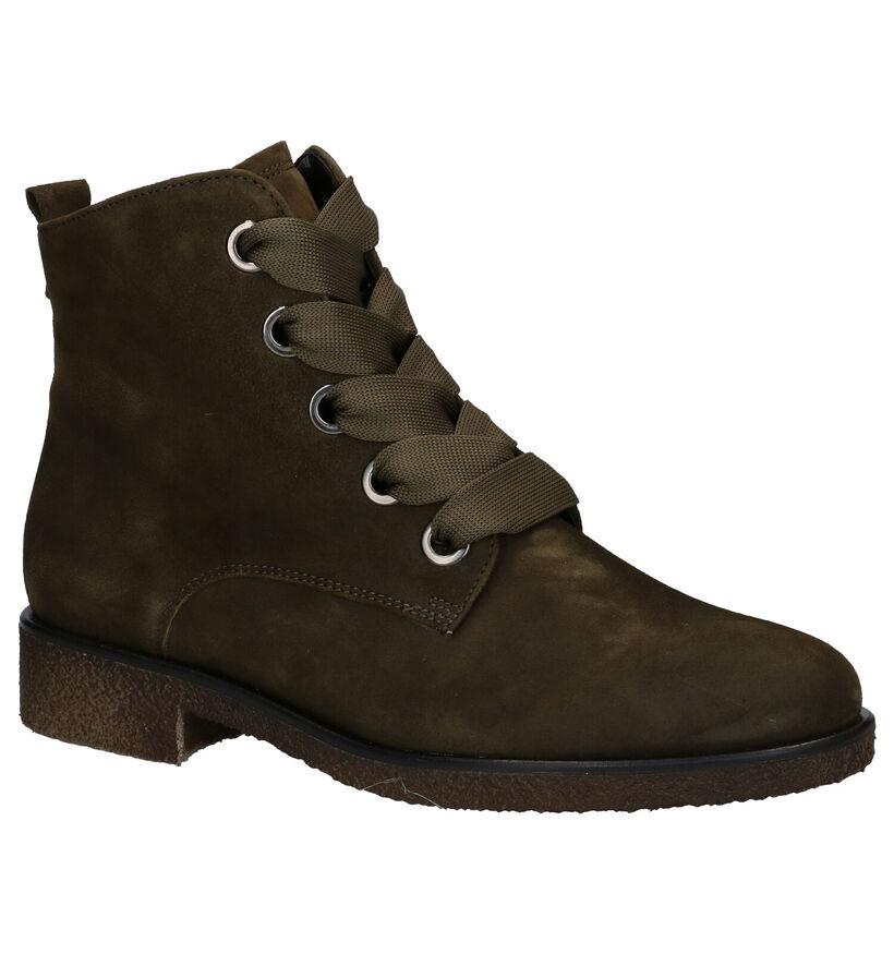 Gabor Blauwe Boots in nubuck (282299)
