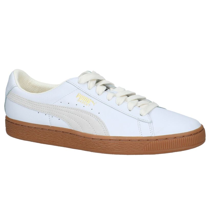 Puma Basket Classic G Sneakers Wit in leer (209932)
