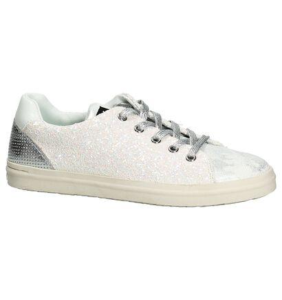 Witte Sneakers Replay Merit in kunstleer (193222)