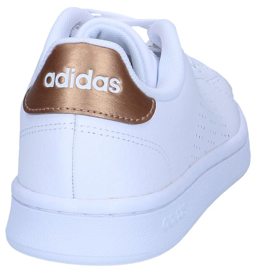 adidas VS Advantage Witte Sneakers in kunstleer (264883)