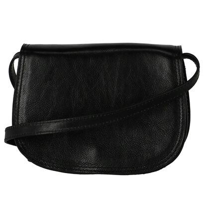 Zadeltas Time Mode Zwart Leder, Zwart, pdp