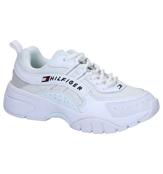 Tommy Hilfiger Heritage Witte Sneakers