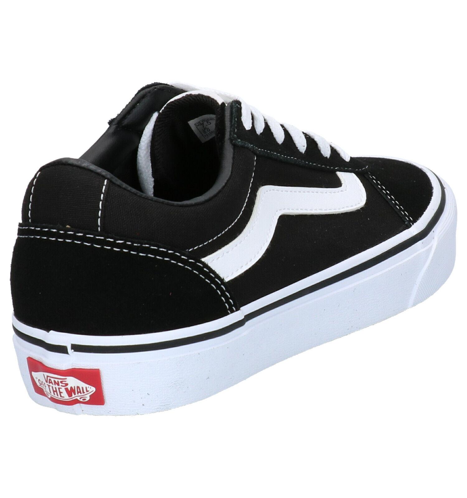 Vans Ward Zwarte Sneakers Dames 42,5