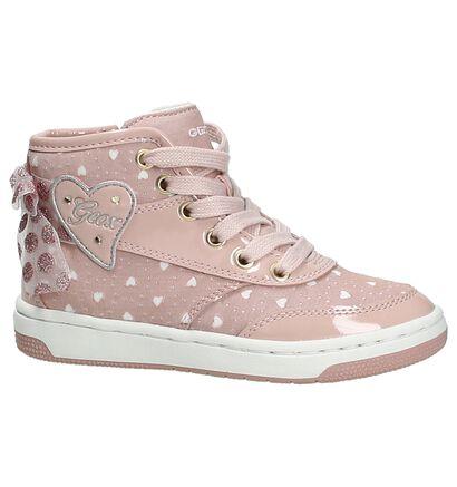 Roze Geox Sneakers met Lichtjes, Roze, pdp