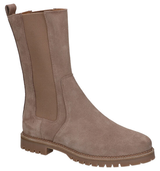 Tango Bee Taupe Chelsea Boots