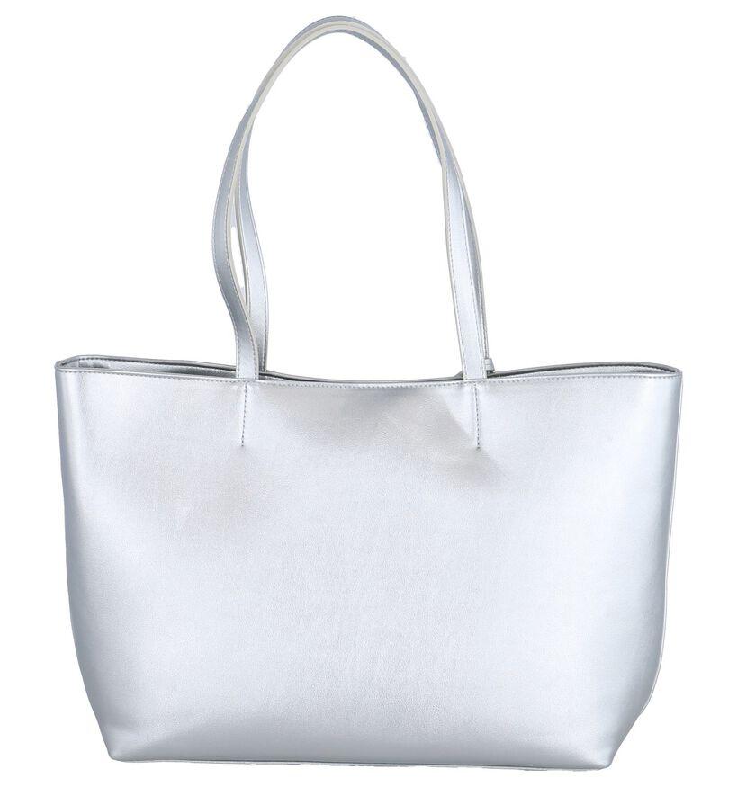 Zilveren Shopper Kisses of Pearl Demi in kunstleer (248256)