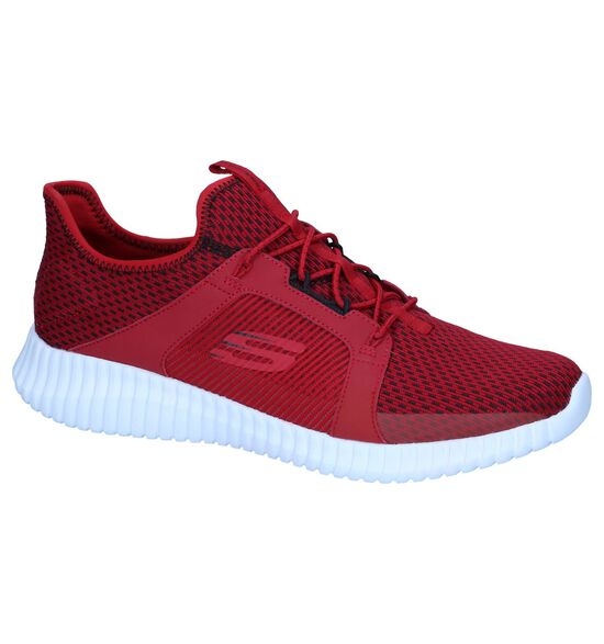 Rode Sneakers Skechers Air-Cooled