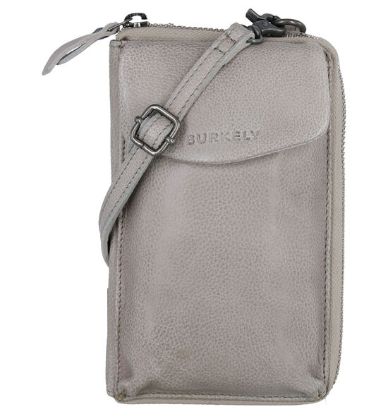 Burkely Just Jackie Grijze Crossbody Tas