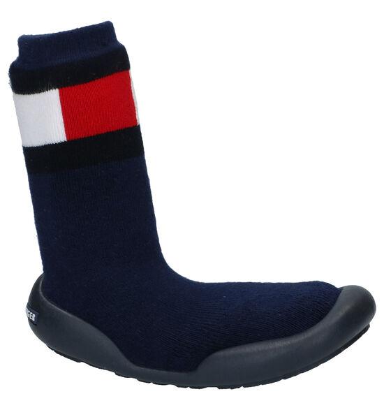 Tommy Hilfiger Blauwe Pantoffels