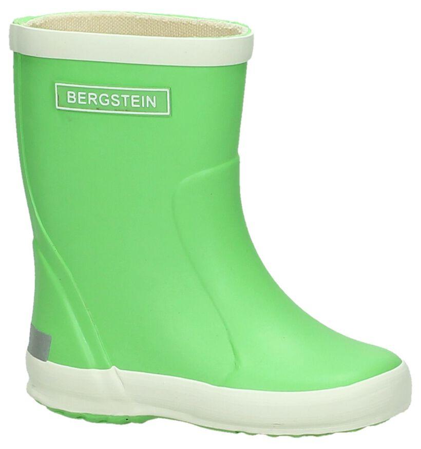 Bergstein Paarse Regenlaarzen in rubber (280578)