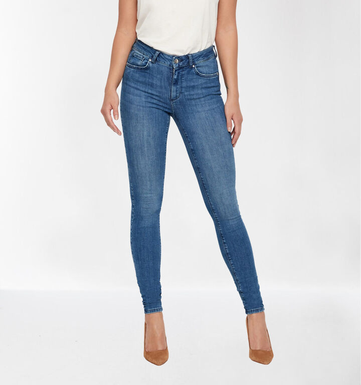 Vero Moda Blauwe Slim Fit Jeans