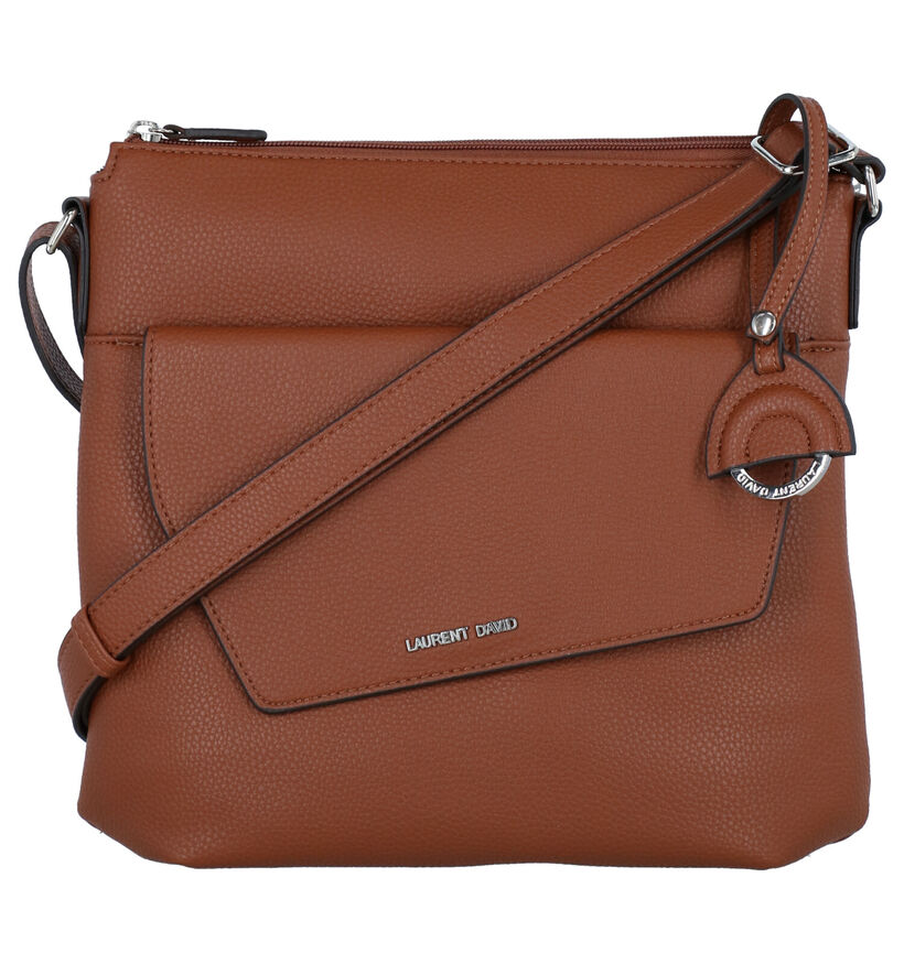 Laurent David Maura Zwarte Crossbody Tas in kunstleer (282600)