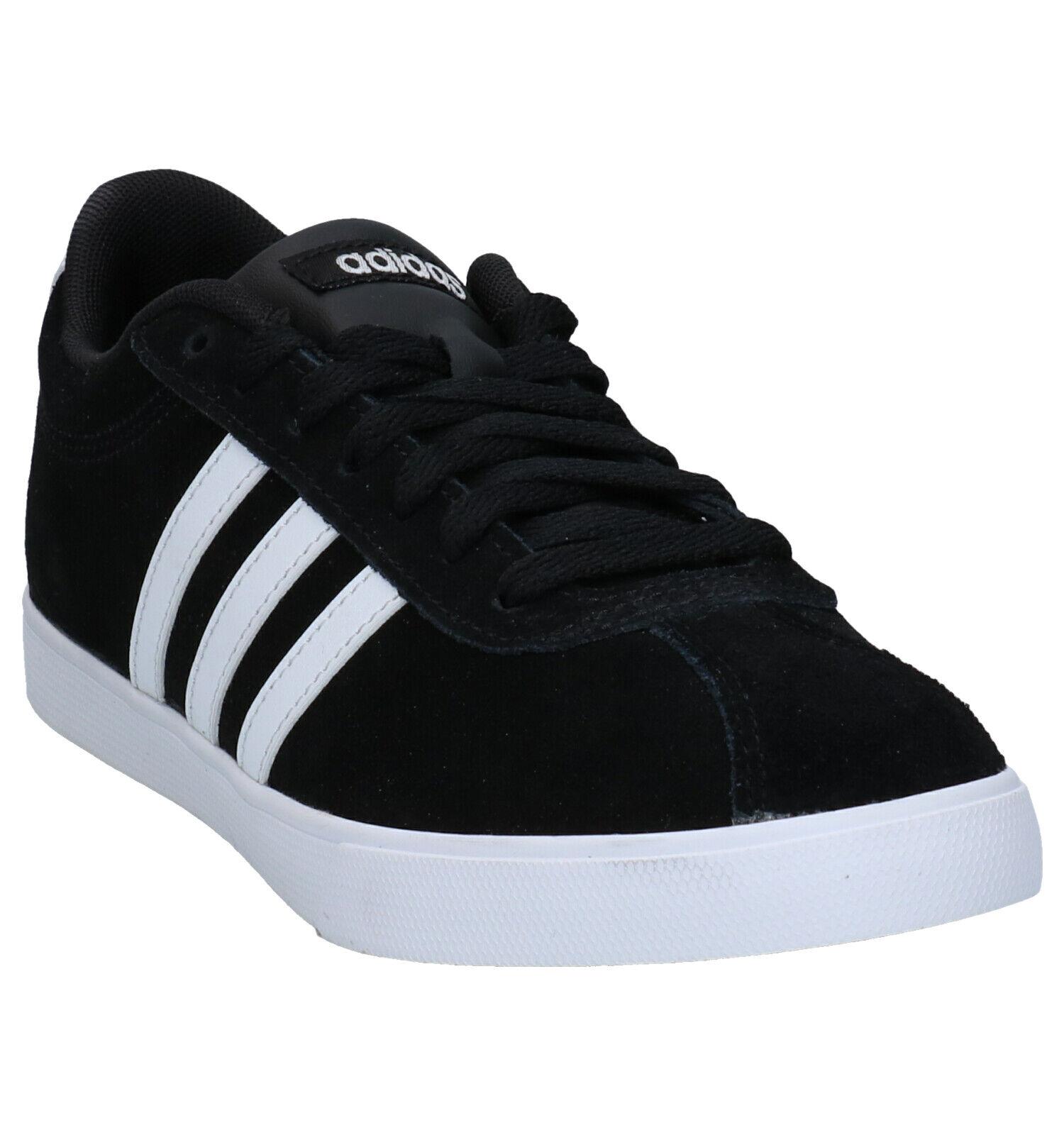adidas Courtset Zwarte Sneakers