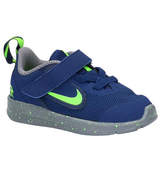 Nike Downshifter 9 Blauwe Sneakers