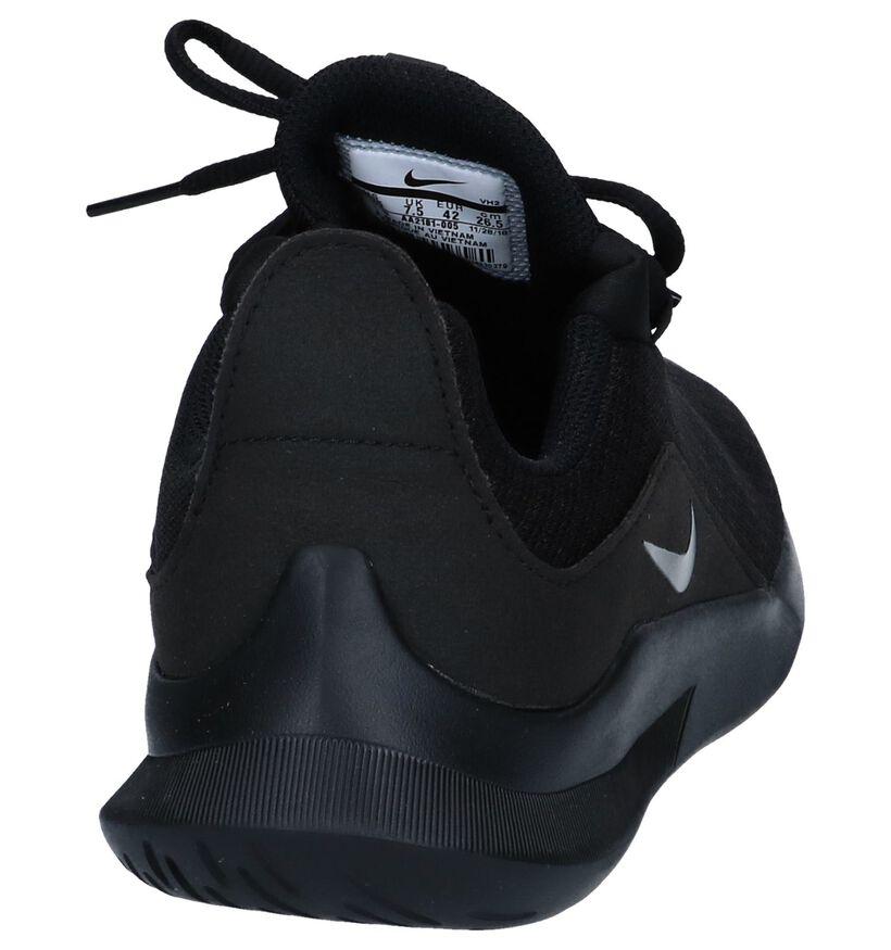 Donkergrijze Slip-on Sneakers Nike Viale in stof (250333)