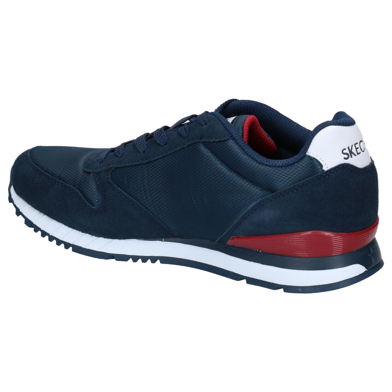 Donkerblauwe Sneakers Skechers Sunlite Waltan