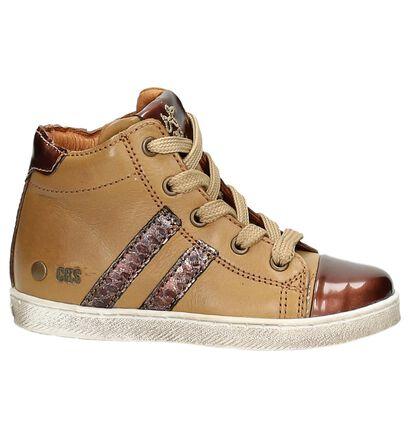 Hoge Sneakers Cognac CKS, Bruin, pdp