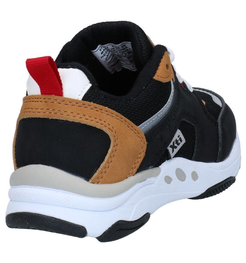 Xti Kids Zwarte Sneakers in stof (281200)