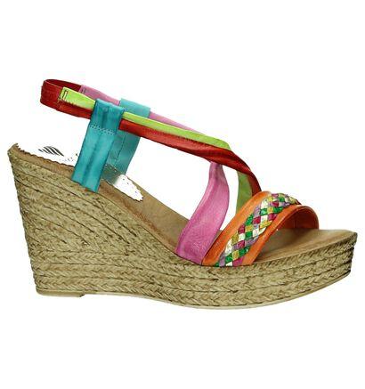 Multi Color Sandaal met Sleehak Marila, Multi, pdp