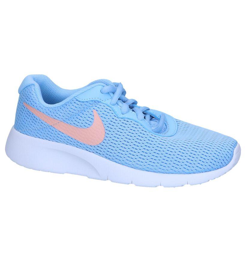 Pastelblauwe Sneakers Nike Tanjun in stof (249849)