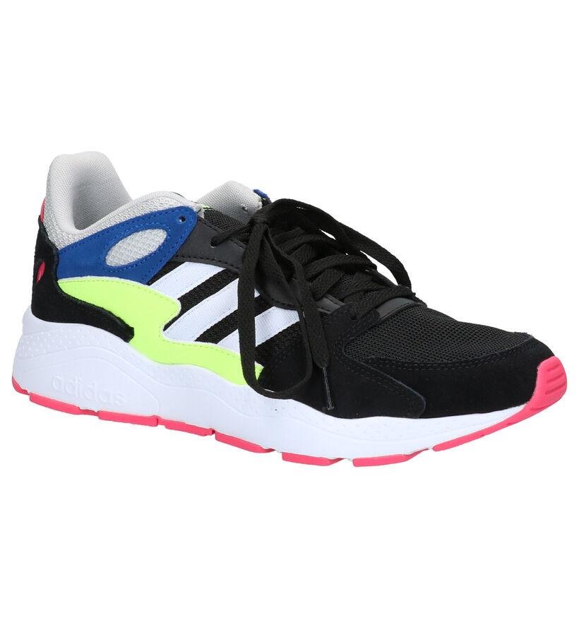 adidas CHAOS Zwarte Sneakers in daim (252502)