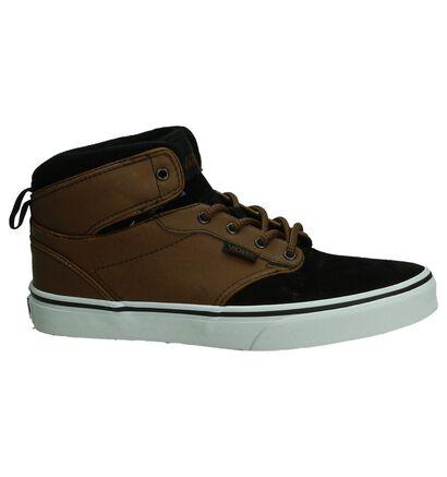 Vans Atwood Hi Zwarte Skateschoenen, Zwart, pdp