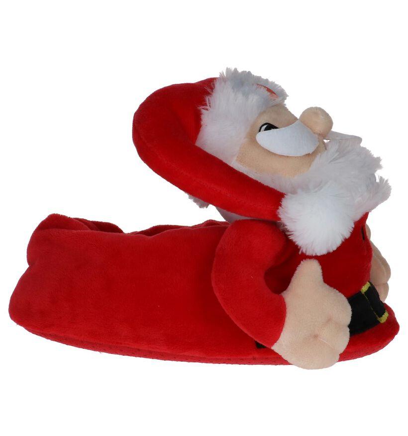 Rode Kerstman Pantoffels met muziek Dazzle by Torfs in stof (224153)