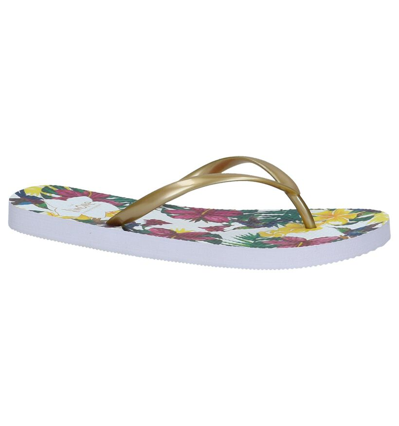 Gouden Teenslippers Via Limone by Amalia in kunstleer (221386)