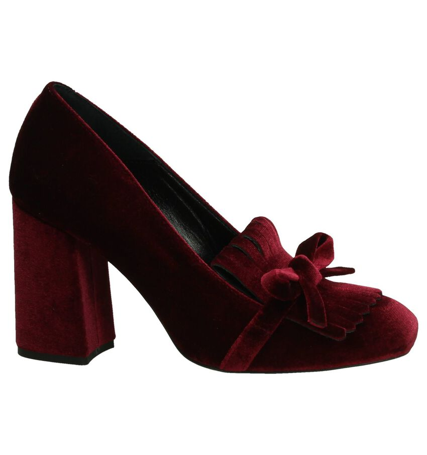 Louisa Bordeaux High Heel Pump