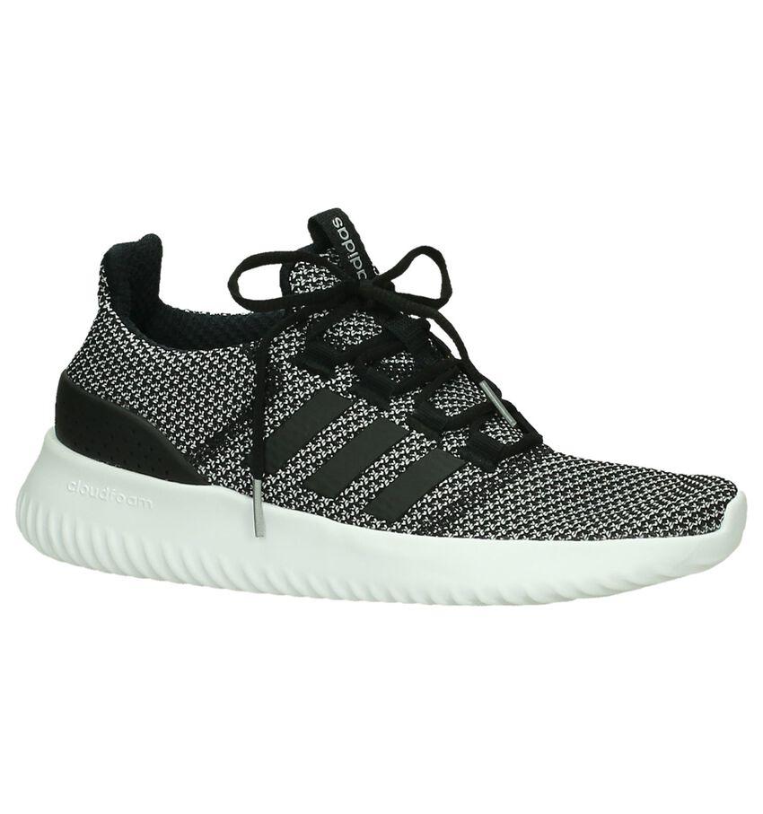 Adidas Cloudfoam Ultimate Zwarte Runner Sneakers