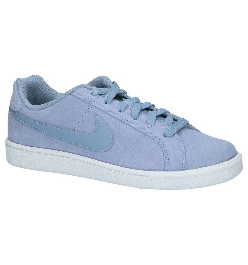 Lage Sportieve Sneaker Nike Court Royale Licht Blauw