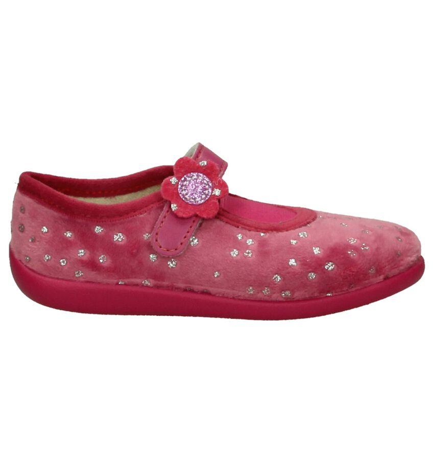Roze Bellamy Prune Pantoffels