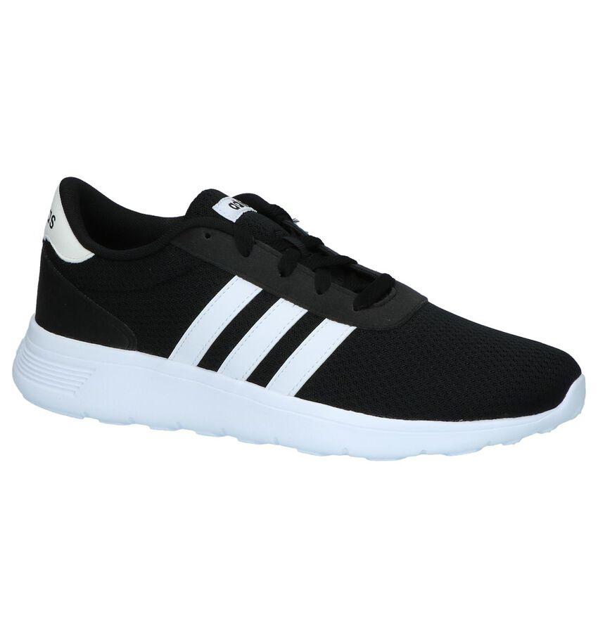 Lage Runner Sneakers Zwart Adidas Lite Racer
