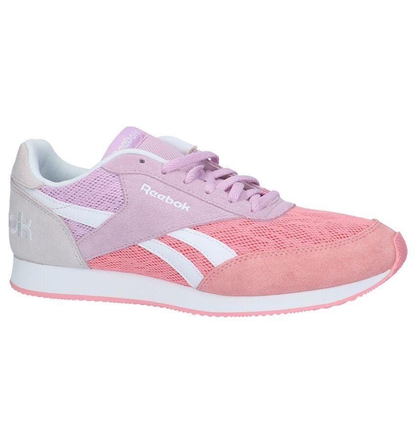Roze Lage Sportieve Sneakers Reebok Royal Cl Jog