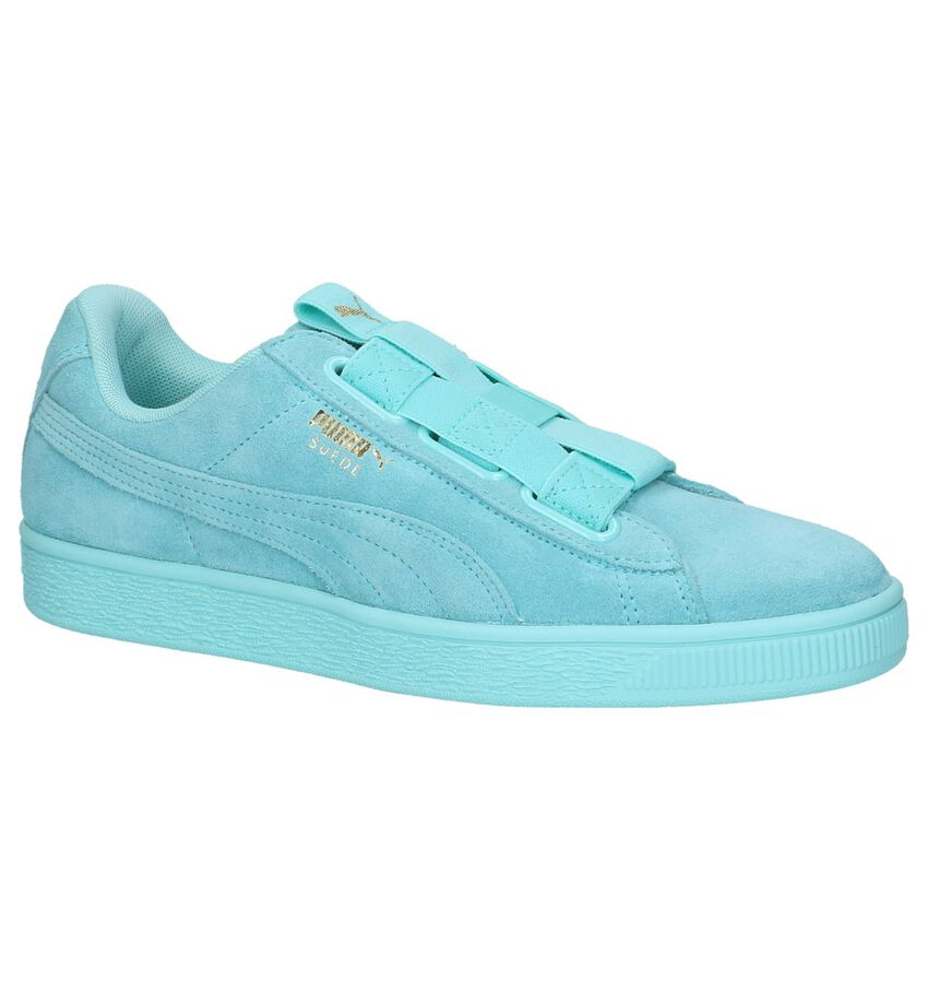 Puma Suede Maze Turquoise Sneakers